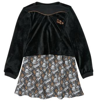 Abbigliamento Bambina Abiti corti Ikks XR30162 Nero