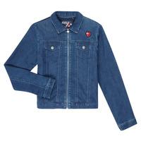Abbigliamento Bambina Giacche in jeans Ikks XR40052 Blu