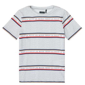 Abbigliamento Bambino T-shirt maniche corte Ikks XR10003 Grigio
