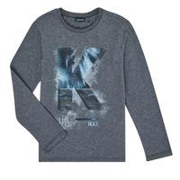Abbigliamento Bambino T-shirts a maniche lunghe Ikks XR10203 Grigio