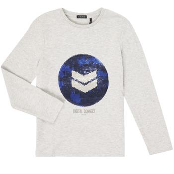 Abbigliamento Bambino T-shirts a maniche lunghe Ikks XR10273 Grigio