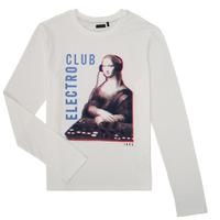 Abbigliamento Bambino T-shirts a maniche lunghe Ikks XR10333 Bianco