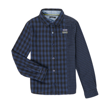 Abbigliamento Bambino Camicie maniche lunghe Ikks XR12123 Blu