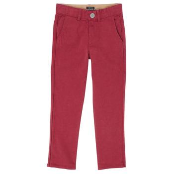 Abbigliamento Bambino Pantaloni 5 tasche Ikks XR22093 Rosso