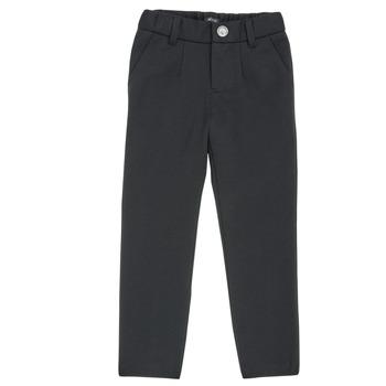 Abbigliamento Bambino Pantaloni 5 tasche Ikks XR23023 Nero