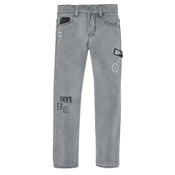 Abbigliamento Bambino Jeans slim Ikks XR29123 Grigio