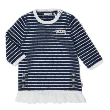 Abbigliamento Bambina Abiti corti Ikks XR30030 Bianco
