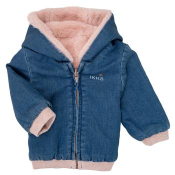 Abbigliamento Bambina Giubbotti Ikks XR40020 Blu