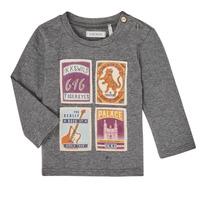 Abbigliamento Bambino T-shirts a maniche lunghe Ikks XR10081 Grigio