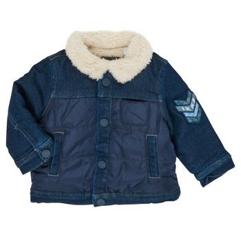 Abbigliamento Bambino Giubbotti Ikks XR40031 Blu