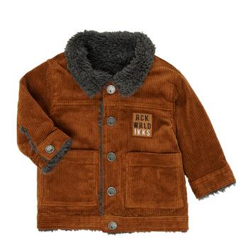 Abbigliamento Bambino Giubbotti Ikks XR40051 Marrone