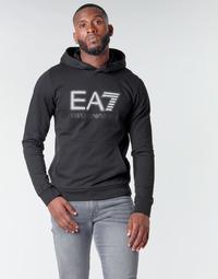 Abbigliamento Uomo Felpe Emporio Armani EA7 TRAIN VISIBILITY M HOODIE RN COFT Nero