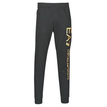 Abbigliamento Uomo Pantaloni da tuta Emporio Armani EA7 TRAIN LOGO SERIES M PANTS Nero