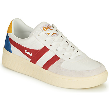 Scarpe Donna Sneakers basse Gola GRANDSLAM TRIDENT Bianco / Rosso
