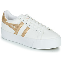 Scarpe Donna Sneakers basse Gola ORCHID PLATEFORM Bianco / Oro
