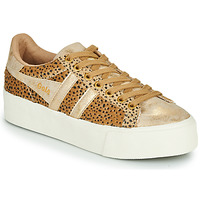 Scarpe Donna Sneakers basse Gola ORCHID PLATEFORM SAVANNA Oro / Ghepardo