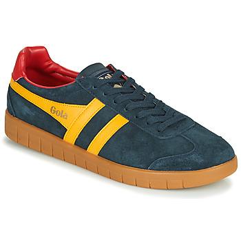 Scarpe Uomo Sneakers basse Gola HURRICANE Marine / Giallo
