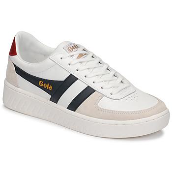 Scarpe Uomo Sneakers basse Gola GRANDSLAM CLASSIC Bianco / Marine