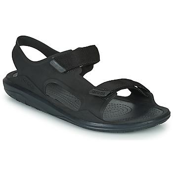 Scarpe Uomo Sandali Crocs SWIFTWATER EXPEDITION SANDAL M Nero