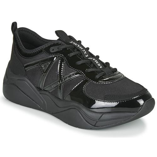 Scarpe Donna Sneakers basse Armani Exchange BALDA Nero