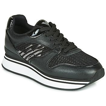 Scarpe Donna Sneakers basse Emporio Armani X3X046-XM547 Nero