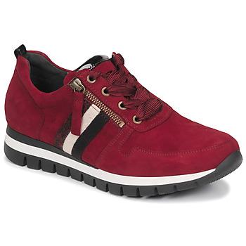 Scarpe Donna Sneakers basse Gabor 5643538 Rosso