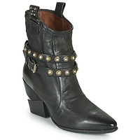 Scarpe Donna Stivaletti Airstep / A.S.98 TINGET BUCKLE Nero
