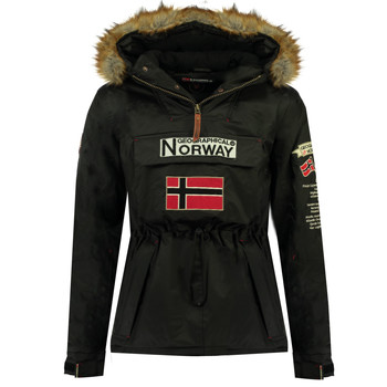 Abbigliamento Bambino Parka Geographical Norway BARMAN BOY Nero