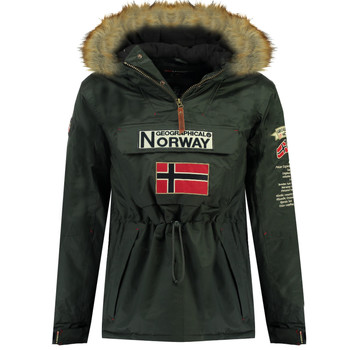 Abbigliamento Bambino Parka Geographical Norway BARMAN BOY Grigio