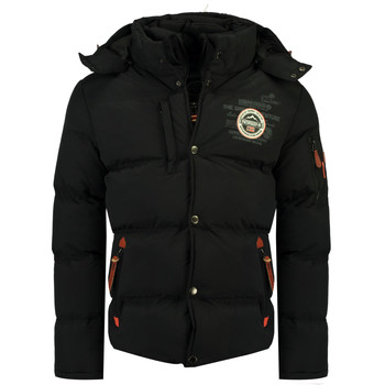 Abbigliamento Bambino Piumini Geographical Norway VERVEINE BOY Nero