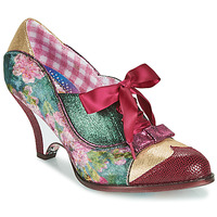 Scarpe Donna Décolleté Irregular Choice FORCE OF BEAUTY Bordeaux / Verde