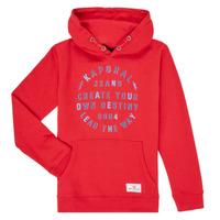 Abbigliamento Bambino Felpe Kaporal OCTAV Rosso