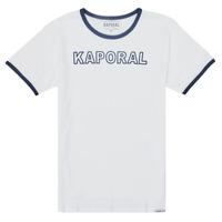 Abbigliamento Bambino T-shirt maniche corte Kaporal ONYX Bianco