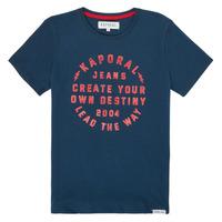 Abbigliamento Bambino T-shirt maniche corte Kaporal ORVAL Marine