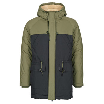 Abbigliamento Uomo Parka Oxbow M2JONKA Verde / Nero
