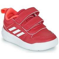 Scarpe Bambina Sneakers basse adidas Performance TENSAUR I Rosa / Bianco