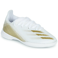 Scarpe Unisex bambino Calcio adidas Performance X GHOSTED.3 IN J Bianco