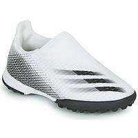 Scarpe Unisex bambino Calcio adidas Performance X GHOSTED.3 LL TF J Bianco
