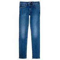 Abbigliamento Bambino Jeans skynny Teddy Smith FLASH Blu