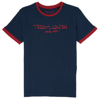 Abbigliamento Bambino T-shirt maniche corte Teddy Smith TICLASS 3 Marine
