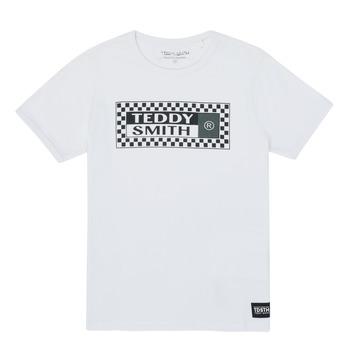 Abbigliamento Bambino T-shirt maniche corte Teddy Smith VANY Bianco