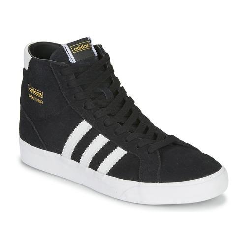 Scarpe Sneakers alte adidas Originals BASKET PROFI Nero