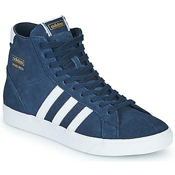 Scarpe Sneakers alte adidas Originals BASKET PROFI Blu