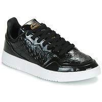 Scarpe Donna Sneakers basse adidas Originals SUPERCOURT W Nero / Vernis