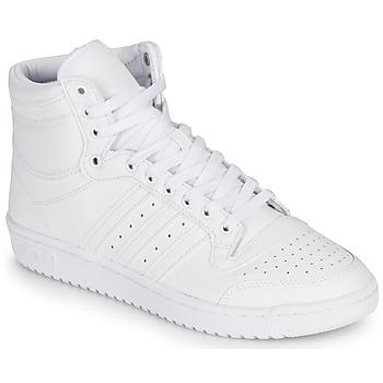 Scarpe Sneakers alte adidas Originals TOP TEN Bianco