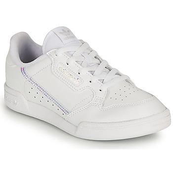 Scarpe Bambina Sneakers basse adidas Originals CONTINENTAL 80 C Bianco