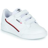 Scarpe Unisex bambino Sneakers basse adidas Originals CONTINENTAL 80 CF C Bianco