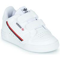 Scarpe Unisex bambino Sneakers basse adidas Originals CONTINENTAL 80 CF I Bianco