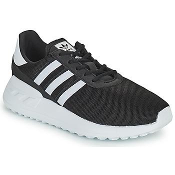 Scarpe Unisex bambino Sneakers basse adidas Originals LA TRAINER LITE C Nero / Bianco