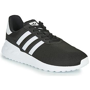 Scarpe Unisex bambino Sneakers basse adidas Originals LA TRAINER LITE J Nero / Bianco